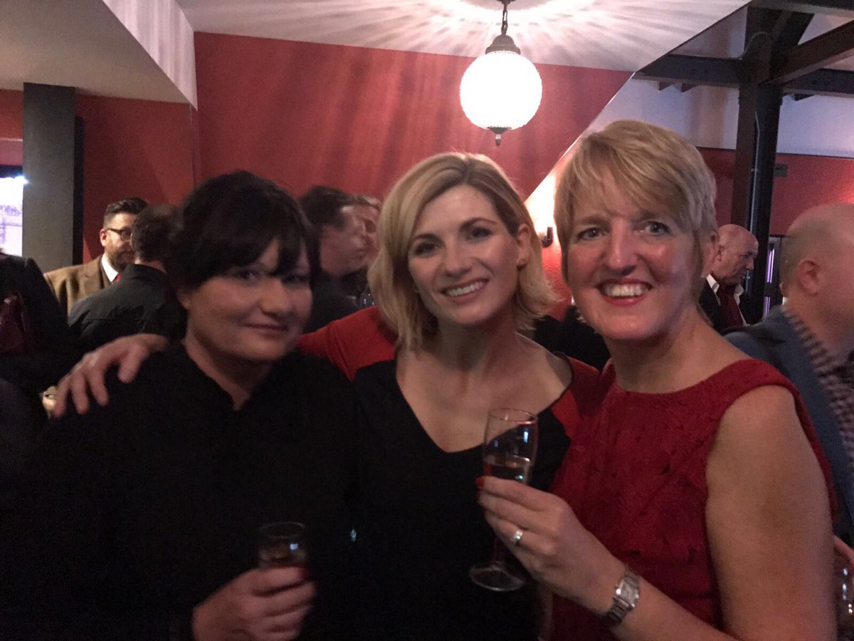 Jill and Jane with Jodie Whittaker